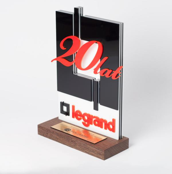 Ehrenpreis zum 20-jährigen Jubiläum von Legrand