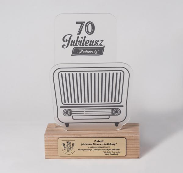 """Preis zum 70-jährigen Jubiläum des Schulzentrums """"Radiobuda"""""""