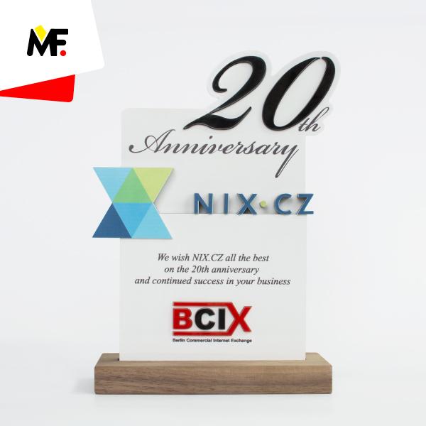 Ehrenpreis zum 20-jährigen Jubiläum von Berlin Commercial Internet Exchange